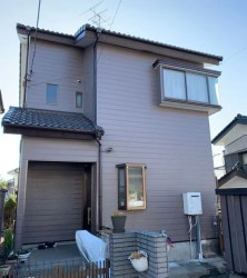 S様邸(埼玉県 春日部市 西宝珠花) 外壁塗装施工事例