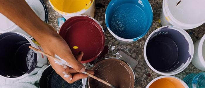 外壁塗装の種類と塗料