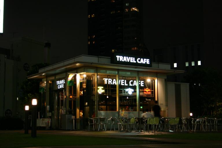 Travel Cafe in Shinjuku