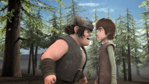 Snotlout is not happy that Hiccup has grounded him.