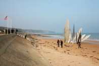 © Gail Harker Tour - Omaha Beach in Normandy