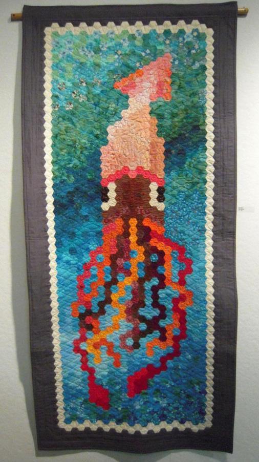 Squid Quilt at PMQG show