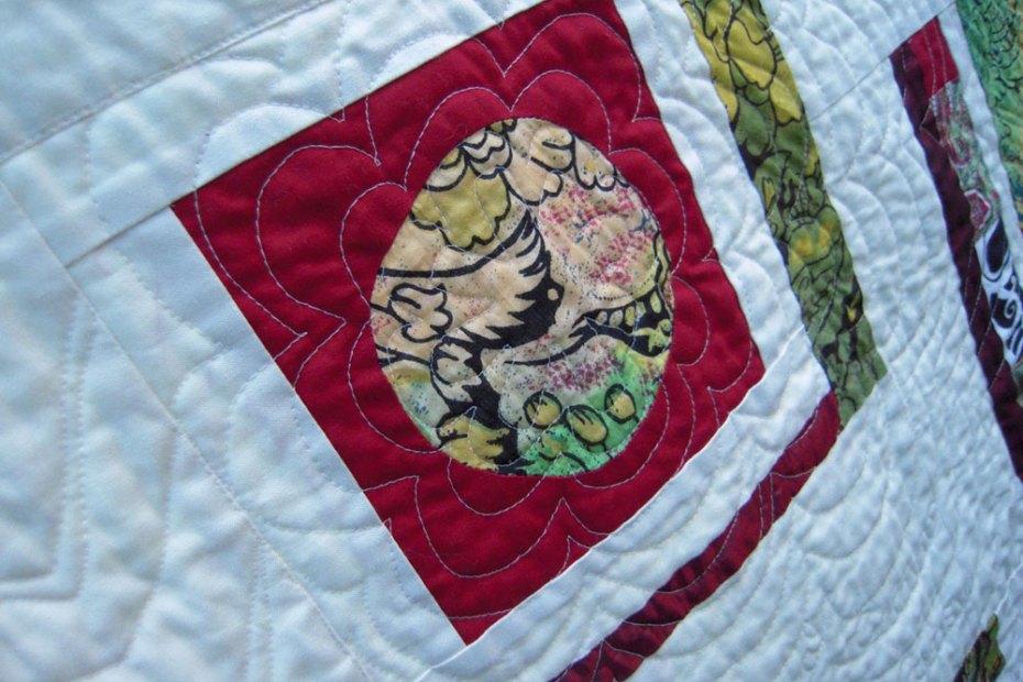 villa villa kula quilt close up