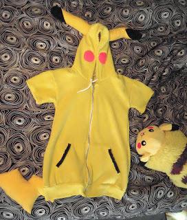 front pikachu jacket