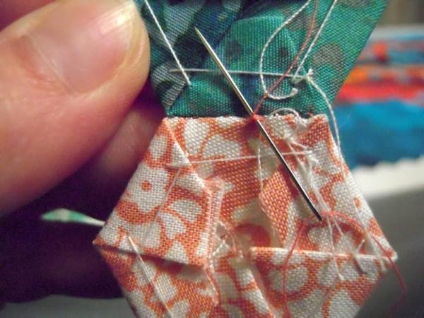 sewing hexies