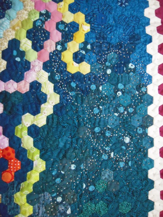 french knot quilting
