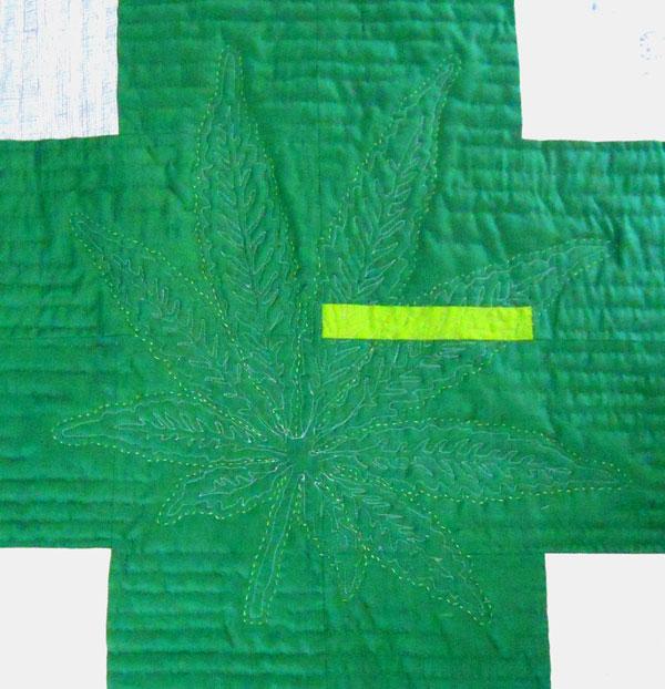 cannabis quilt