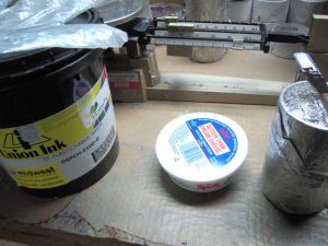 Mixing Discharge Inks