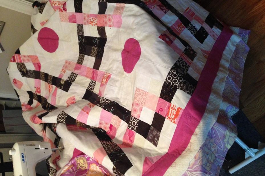 interlaced orbs quilting