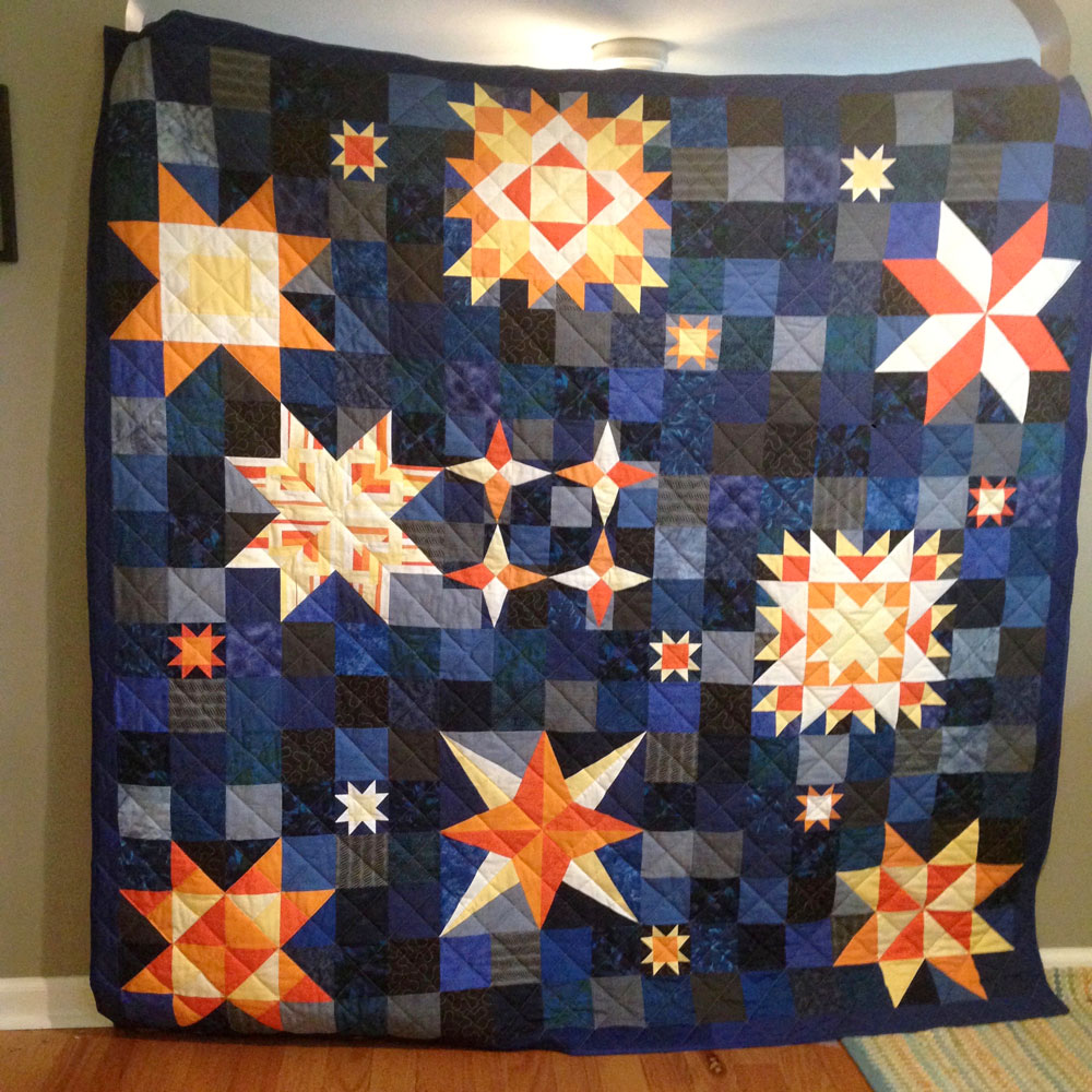 Star Quilt Front