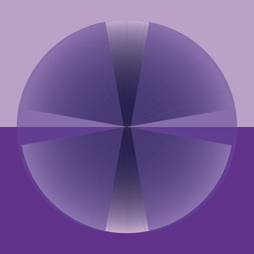 Pretty purple graphic by gail lizette