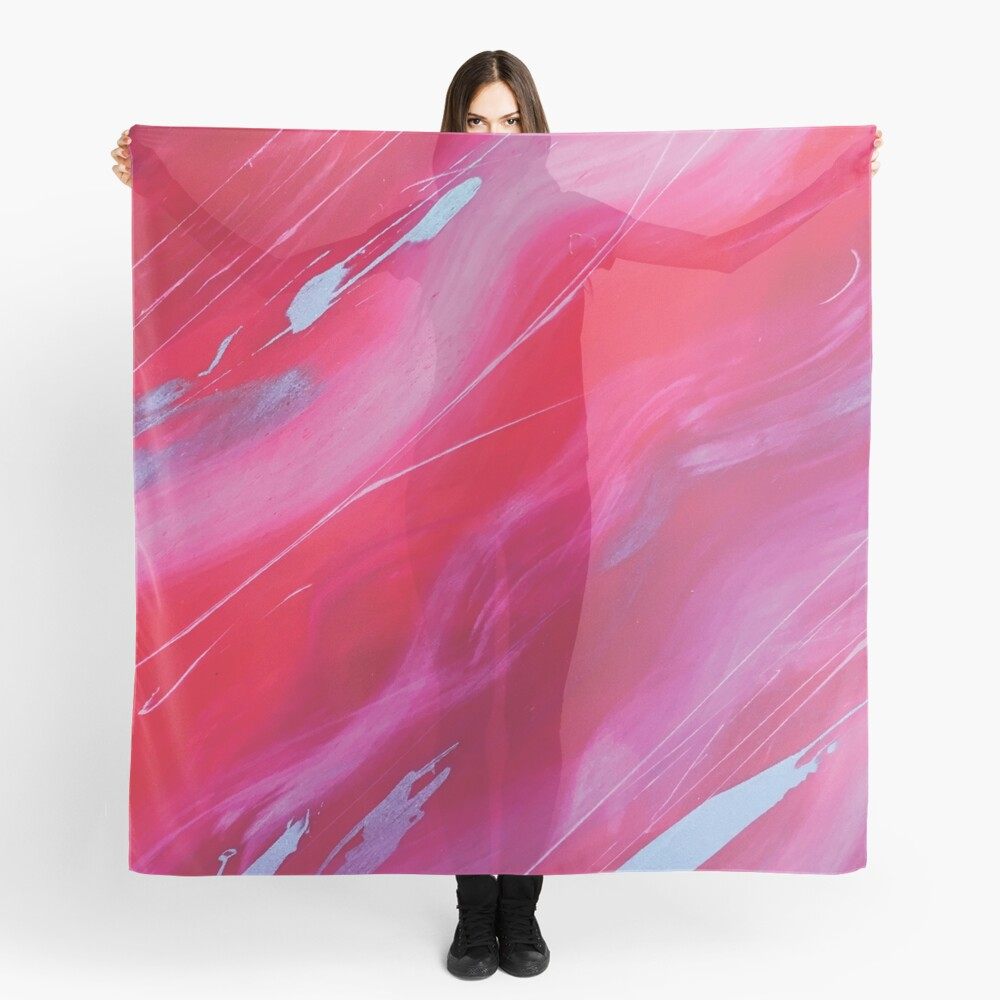 Jovian Sunstorm as a Scarf at Red Bubble