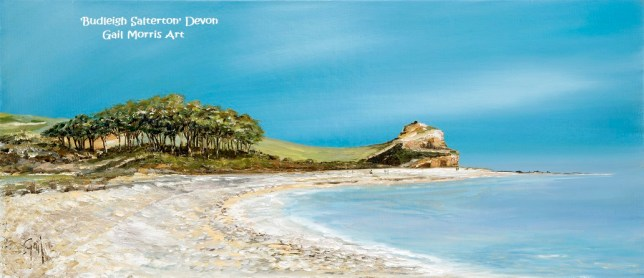 'Budleigh Salterton' Devon - Framed Prints from £85 on collection only