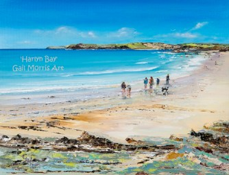 Harlyn Bay - Original SOLD Mounted prints from £35