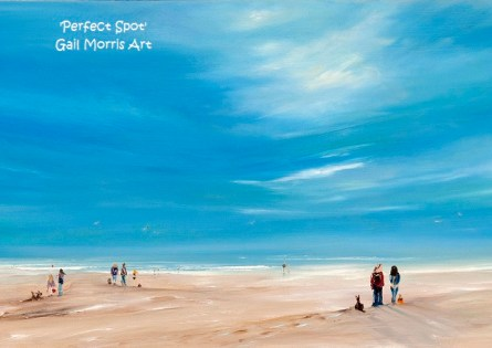 'Perfect Spot' - Exmouth Framed Prints from £75 - £125 Collection Only - Greeting Cards £2