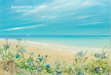 'Blue Oasis' Isles of Scilly Greeting Card A5 size