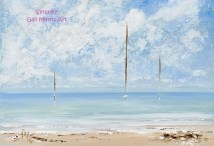 Serenity Isles of Scilly Greeting Card A5 size