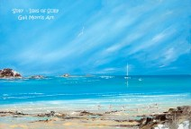 'Solo' Isles of Scilly Greeting Card A5 size