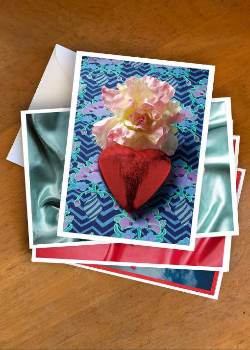 Hearts Cards - photographic greeting cards by Gail Russell