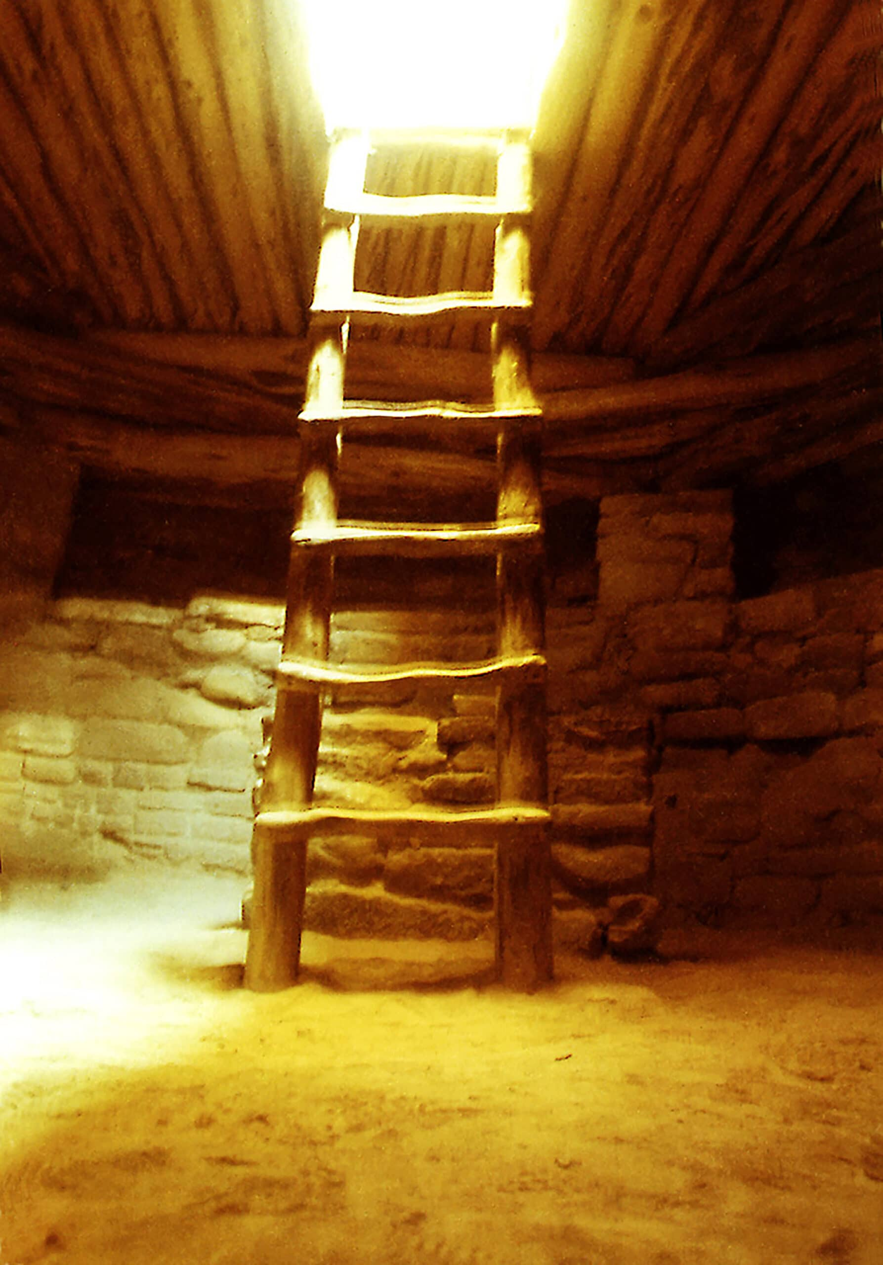 Ladder-To-Light-12x18-copyright-Gale-Russell
