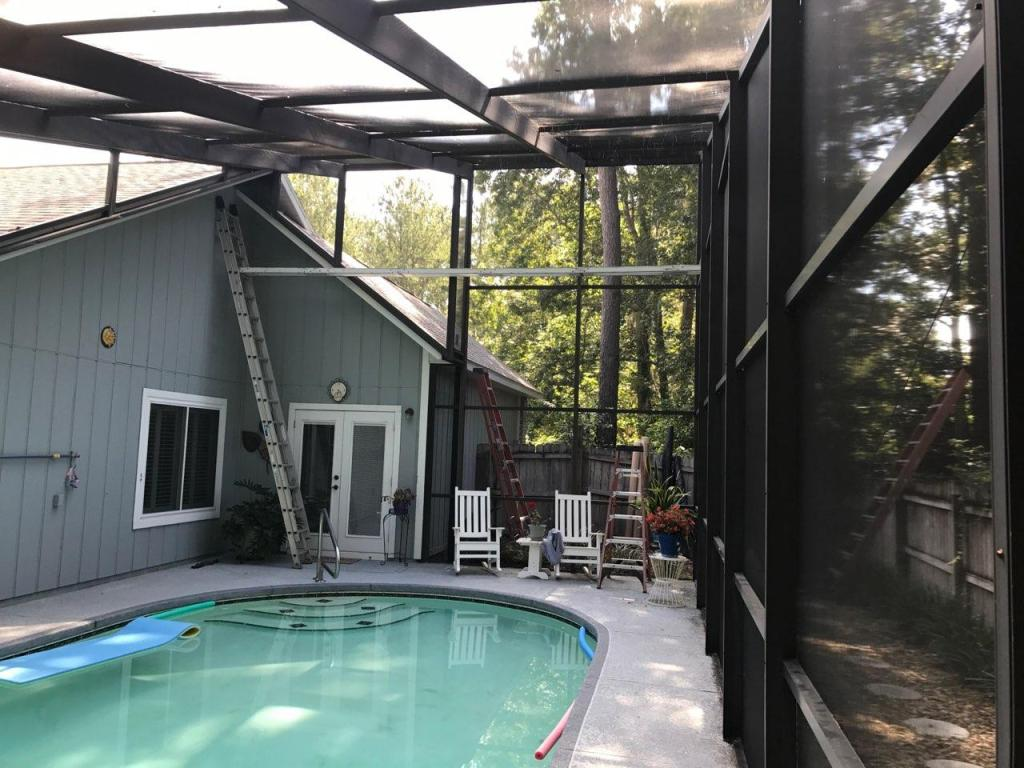 Gainesville Pool Enclosure