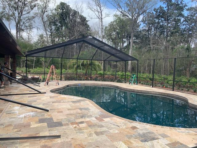Gainesville Swimming Pool Enclosure