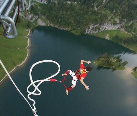 life of adventure, leap of faith