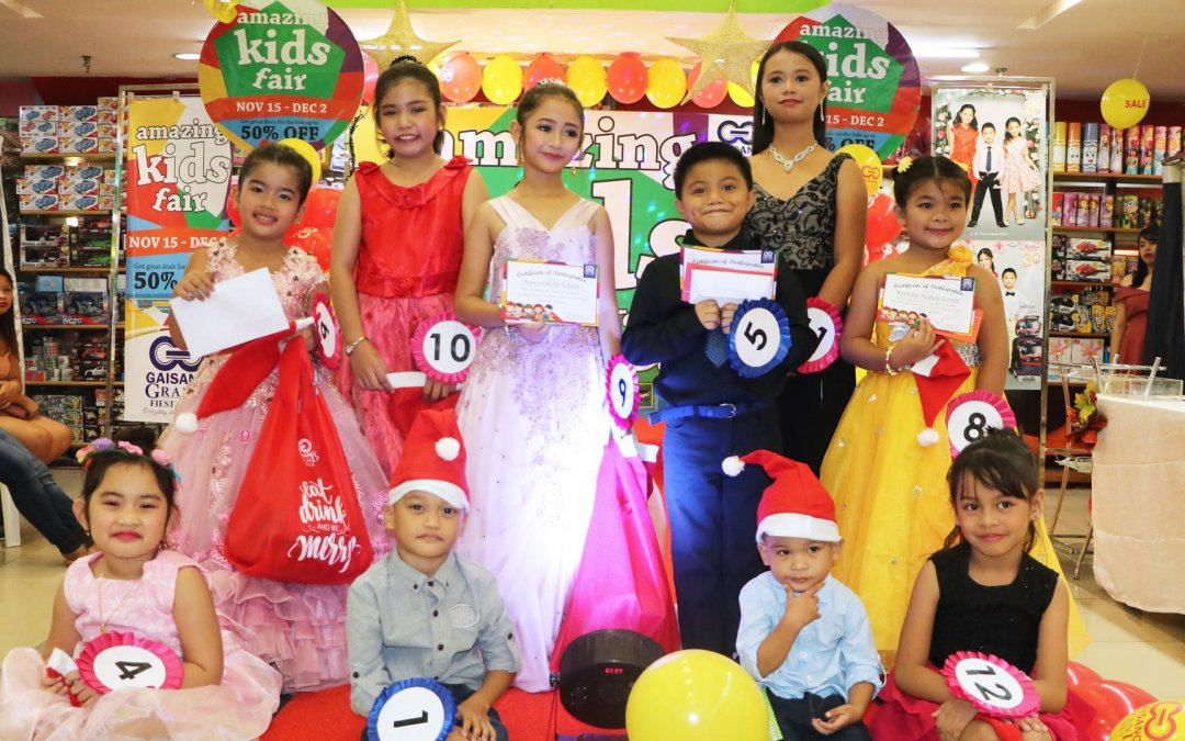 Gaisano Grand Mall Amazing Kids Runway 2018