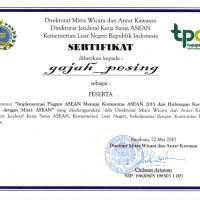 Sertifikat Piagam ASEAN