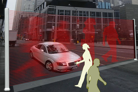 laser crosswalk