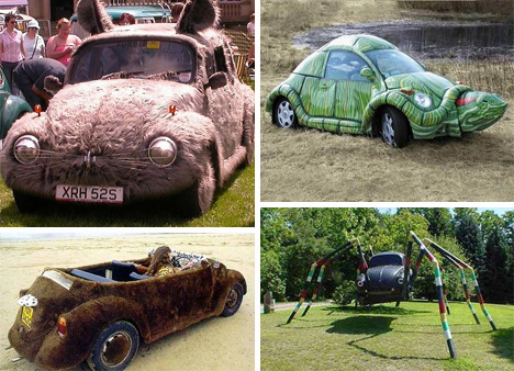 crazy vw beetle mods
