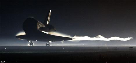 End of an Era: U.S. Space Shuttle's Final Return to Earth ...