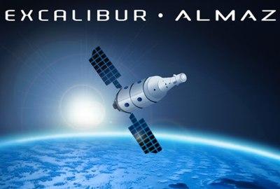 Vista della Excalibur Almaz, forse sarà la prima stazione spaziale privata