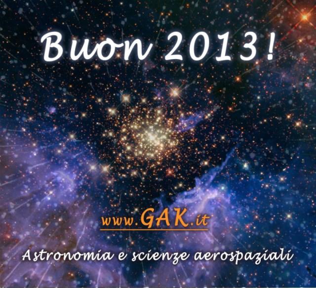 Auguri di buon 2013 !
