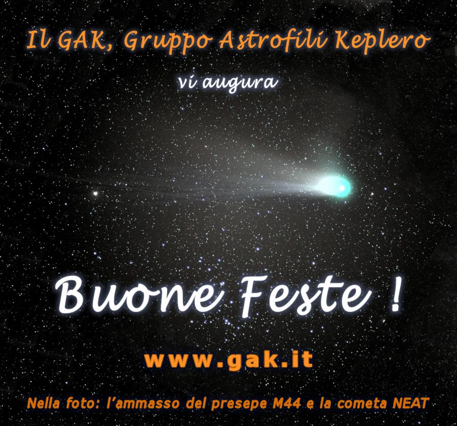 L'ammasso del presepe M44 e la cometa NEAT