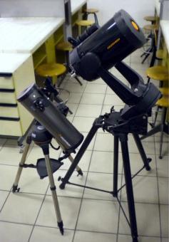 I telescopi del GAK : un Celestron C8 e un 114 SLT