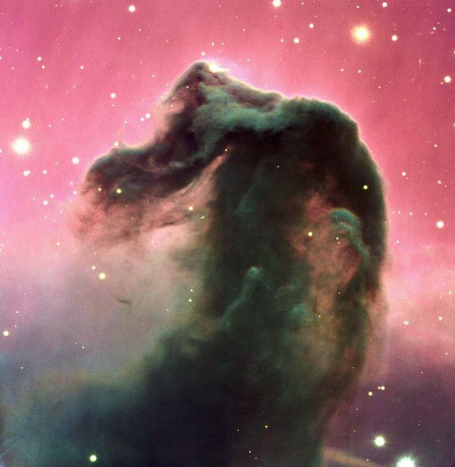 La nebulosa testa di cavallo in Orione, Horsehead nebula IC434