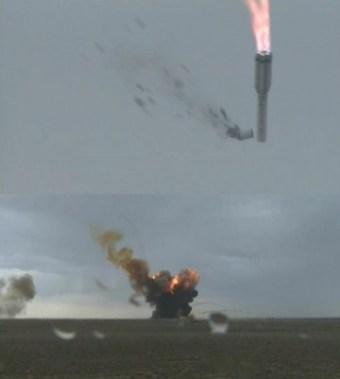 Proton-M esplode dopo il decollo.