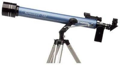 Il Konustart 700 piccolo rifrattore da 60mm  della Konus. Image credit: Konus