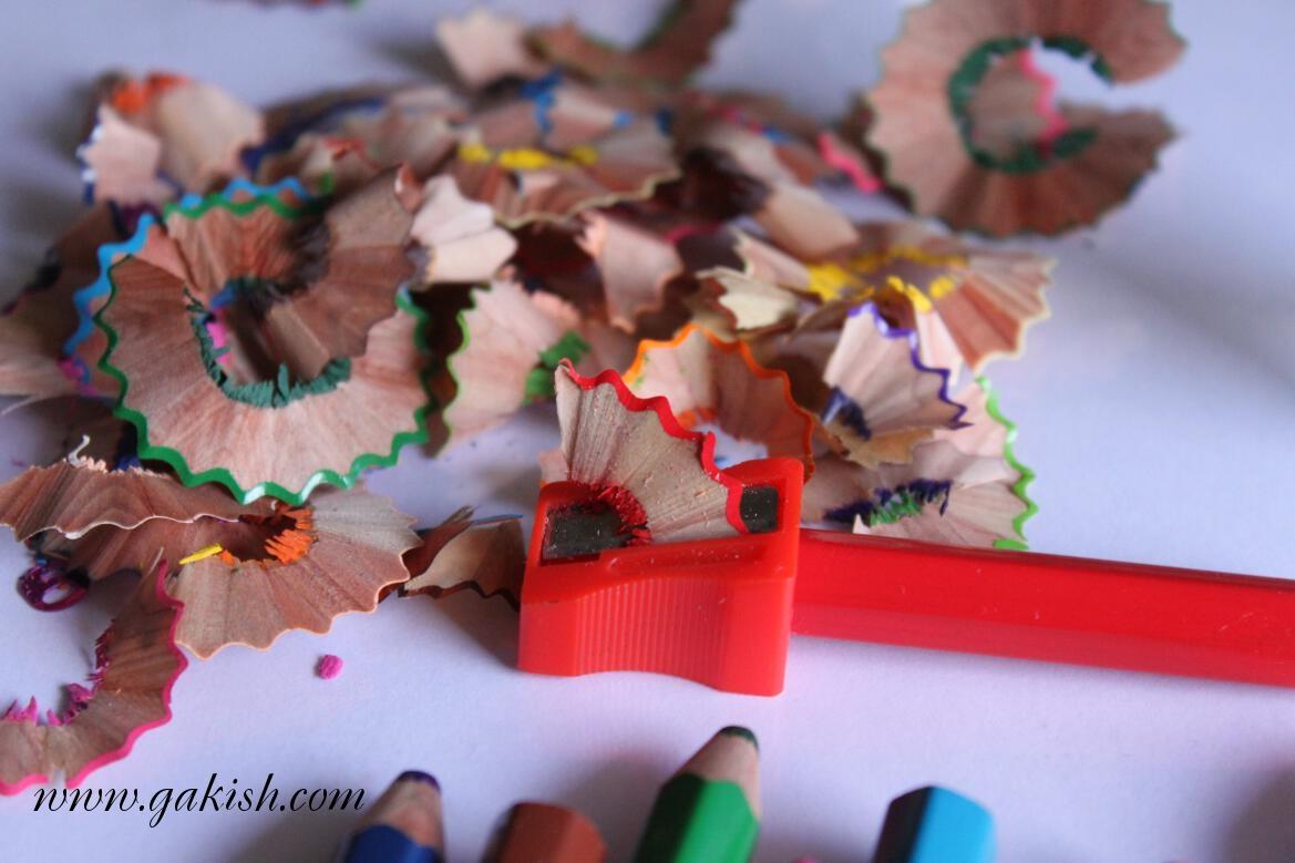 картинки из очистков карандашей площадные объекты