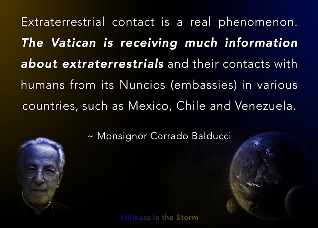 Vatican Theologian Says Aliens are Real and Are More Spiritual and Intellectual Than Humans — Paper by Monsignor Corrado Balducci