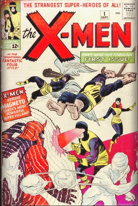 Aug  6, 1963] X marks the comic (X-Men, Avengers, Sgt  Fury
