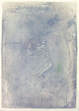 """ affioramento "" -2006, cm 60x40, private collection"