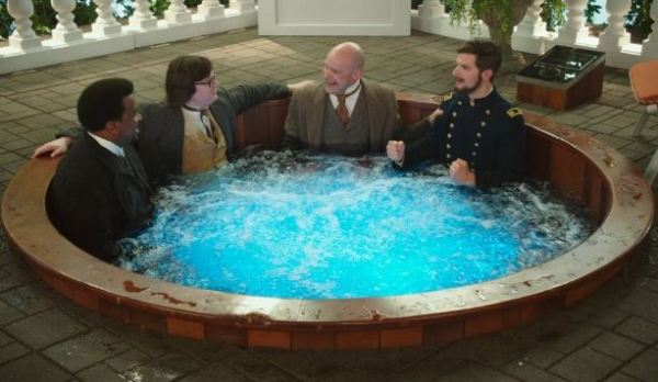 Hot Tube Time Machine