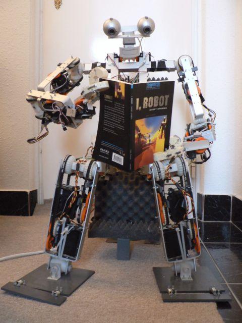Pécskai Balázs SIMON-3 robotja