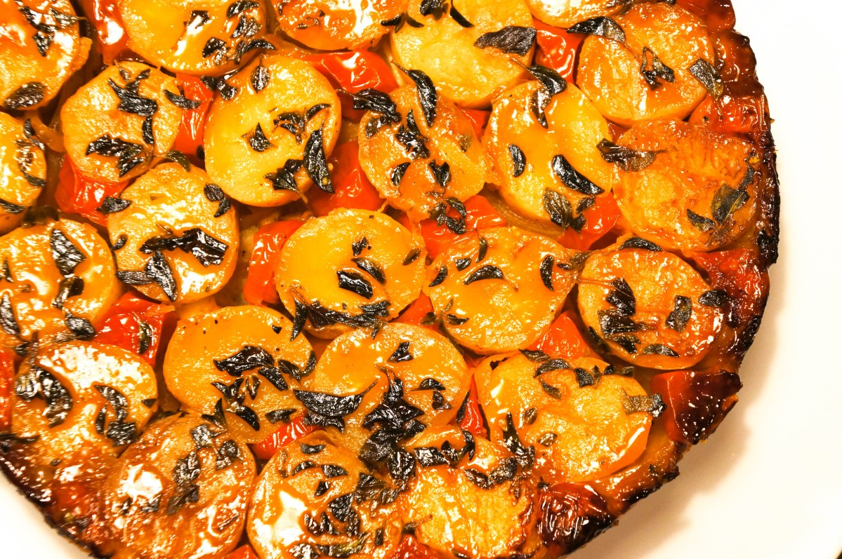Potato Tart Tatin