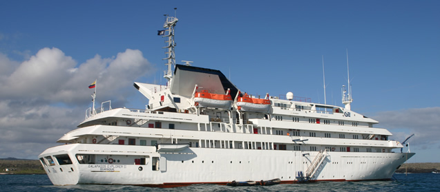 galapagos cruiser ship