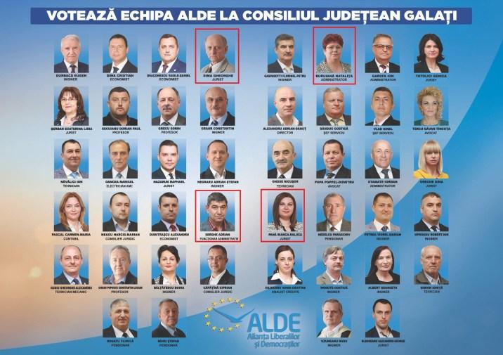 ALDE lista judet