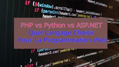 Photo of PHP vs Python vs ASP.NET : Choisir Un Langage de Programmation Web – GalaTruc