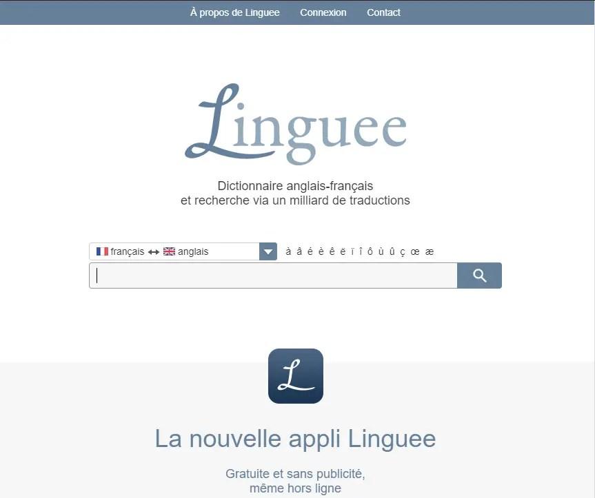 Linguee : Un autre meilleur parmis les traducteurs En Ligne